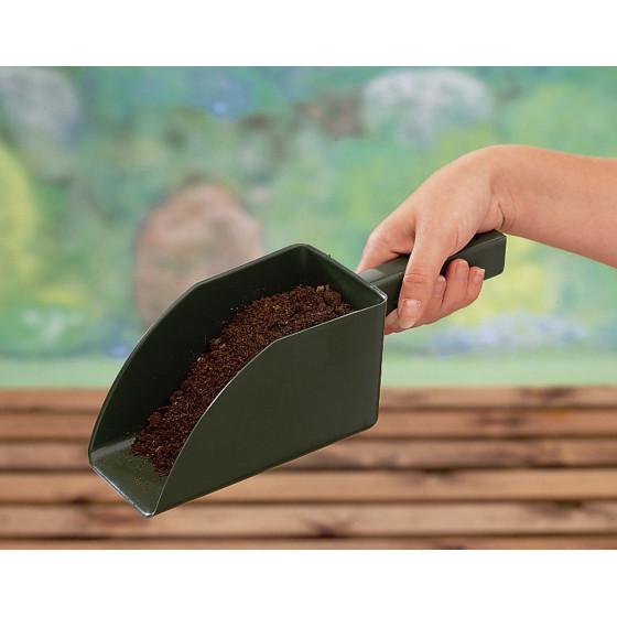 Tamis de jardin 2 grilles et pelle à terreau