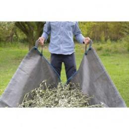 Bâche de ramassage déchet vert 2 m x 3,40 m ou 5 m