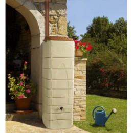 Réserve d'eau de pluie murale gris anthracite 650 litres