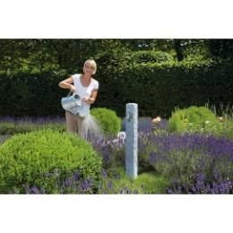 Fontaine de jardin imitation pierre