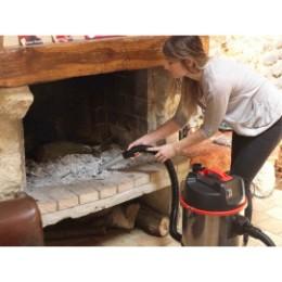 Aspirateur à eau, poussières et vide cendres 30 L 1200 W