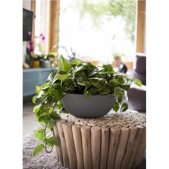 Vasque à fleurs 15 litres gris anthracite