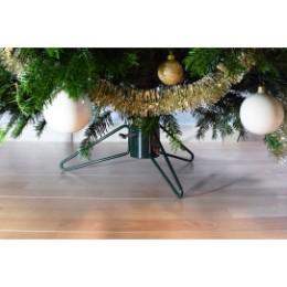 Pied de sapin en métal vert sapin 3 pieds en fer rond Ø 7 cm