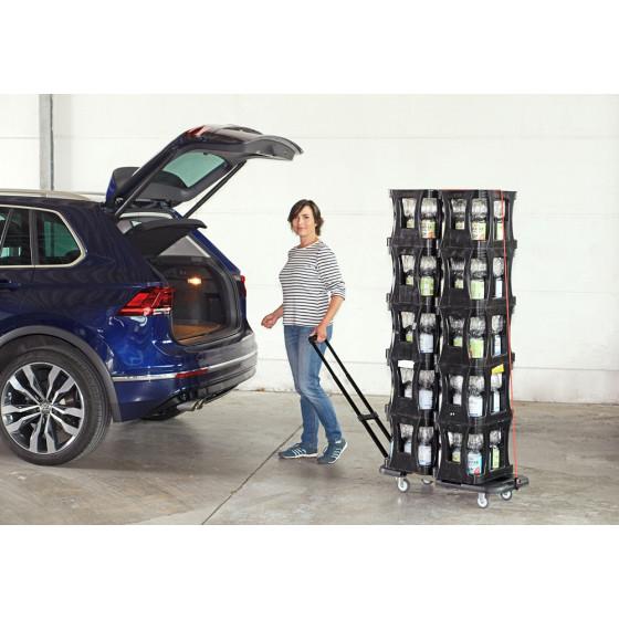 Chariot de transport extensible jusqu'à 150 kg