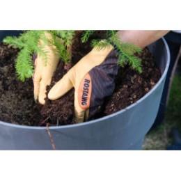 Gants de jardinage Homme en cuir hydrofuge