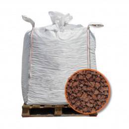 Pouzzolane rouge en big bag 1m3