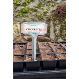 Etiquette de jardin en métal (les 5)