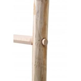 Echelle arboricole en bois 2,45 m