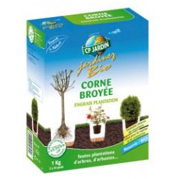 Corne broyée engrais 1 kg pour la culture biologique