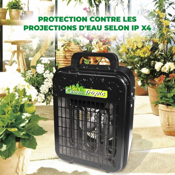 chauffage electrique pour serre de jardin 2000 W