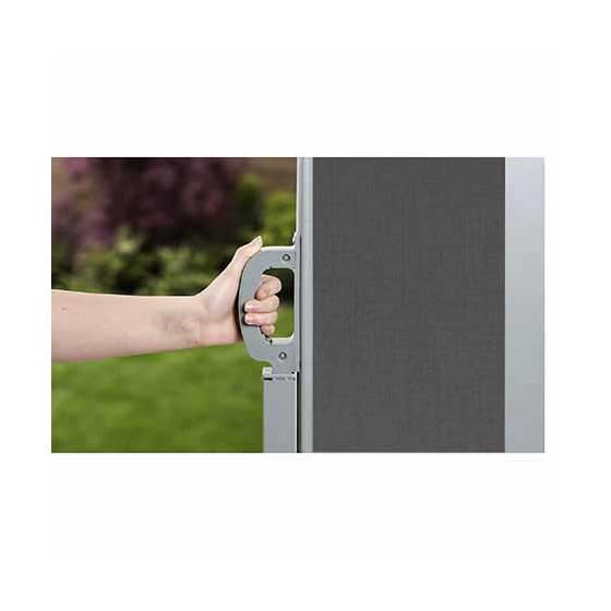 paravent extérieur rétractable 160 - 300 cm pour terrasse