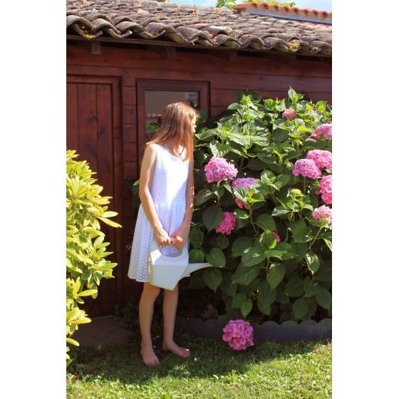 Une bordure de jardin discrète