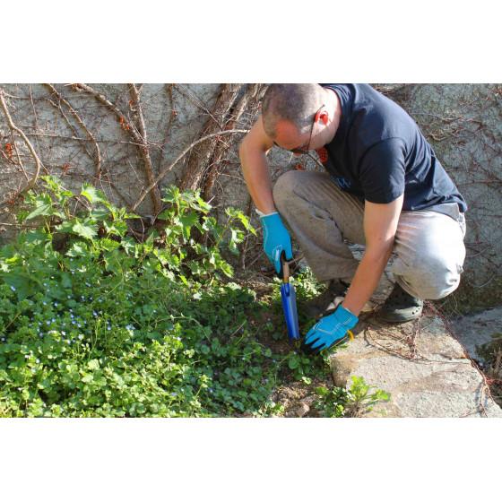 gouge à désherber pour extirper les racines des mauvaises herbes
